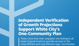 Growth Study Update Supports White City's One-Community Plan