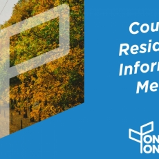 Country Residential Information Meeting - Update